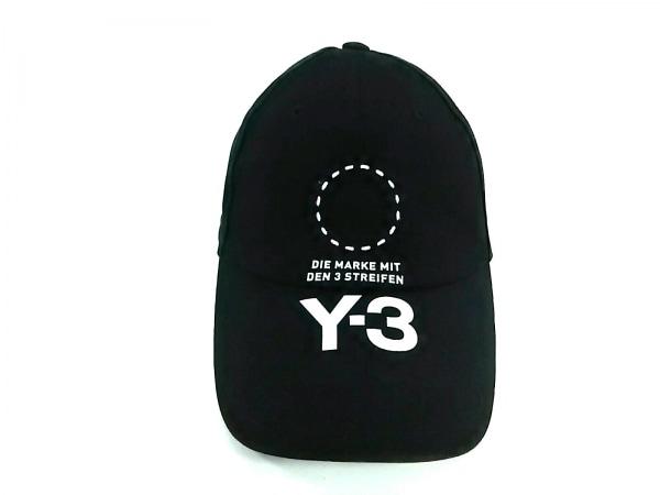 Y-3(ワイスリー) キャップ 58 黒 コットン×ポリウレタン