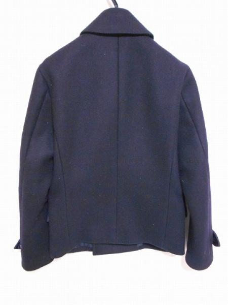 EDIFICE(エディフィス) Pコート サイズ38 M メンズ 黒 冬物