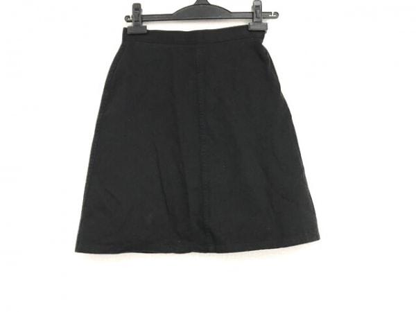 agnes b(アニエスベー) ミニスカート サイズ34 S レディース美品  黒