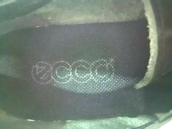 ECCO(エコー) シューズ 36 23.0 レディース美品  黒 刺繍 レザー
