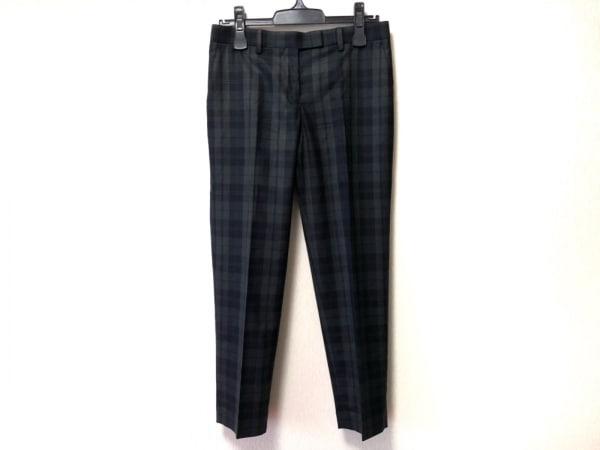 トゥモローランド パンツ サイズ36 S レディース ダークグレー×黒×マルチ