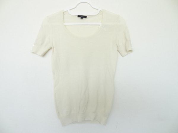 theory(セオリー) 半袖セーター サイズ2 S レディース美品  アイボリー
