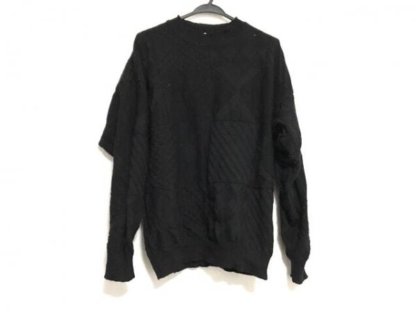 HUGOBOSS(ヒューゴボス) 長袖セーター サイズ50 XL レディース美品  黒