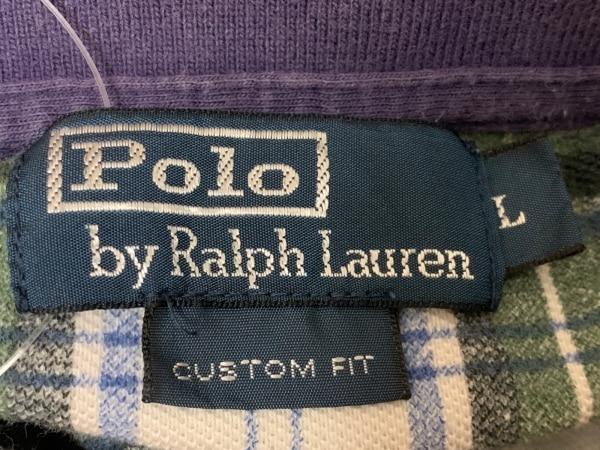 ポロラルフローレン 半袖ポロシャツ サイズL レディース美品  ビッグポニー
