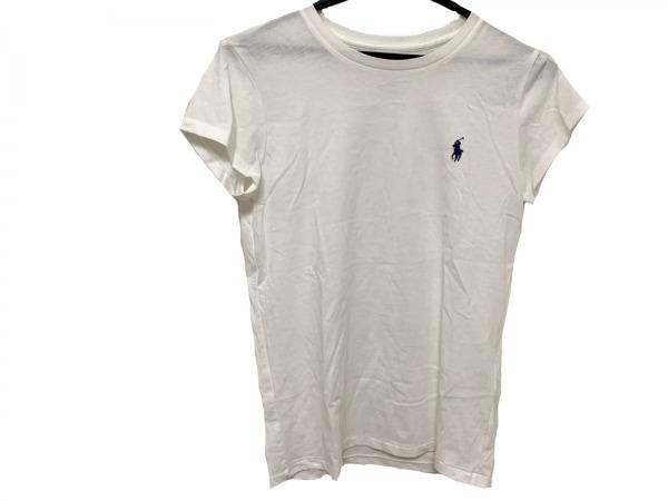 POLObyRalphLauren(ポロラルフローレン) 半袖Tシャツ レディース美品  白