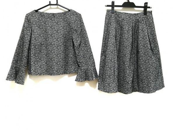 トゥービーシック スカートセットアップ サイズ40 M レディース新品同様  黒×白