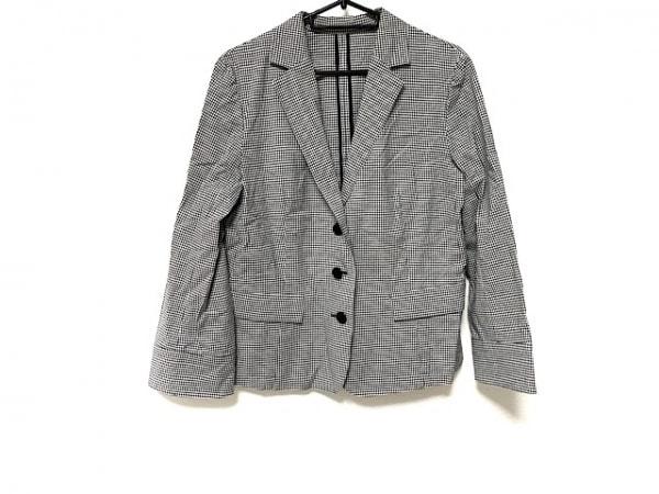 レキップ ヨシエイナバ ジャケット サイズ42 L レディース 黒×白