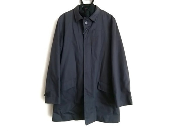 DOLOMITE(ドロミテ) コート サイズL メンズ ダークグレー×黒 ライナー付き/春・秋物