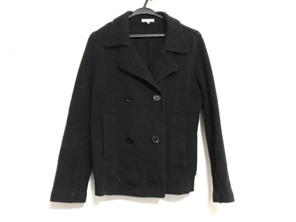 Lacoste(ラコステ) Pコート サイズ40 M レディース 黒 冬物