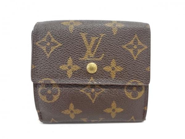 ルイヴィトン Wホック財布 モノグラム ポルト モネ・ビエ カルト クレディ M61652