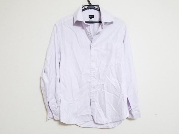 PaulSmith(ポールスミス) 長袖シャツ サイズM メンズ パープル×白