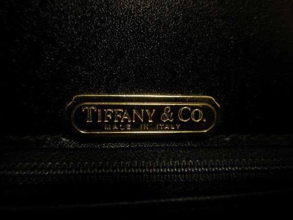 TIFFANY&Co.(ティファニー) ハンドバッグ 黒 レザー