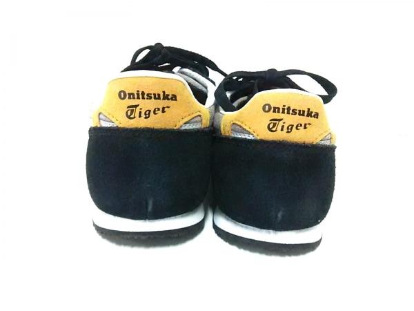 アシックス・オニツカタイガー スニーカー メンズ 黒×ライトグレー