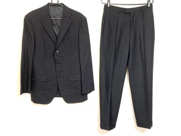 CERRUTI 1881(セルッティ1881) シングルスーツ メンズ 黒 ネーム刺繍