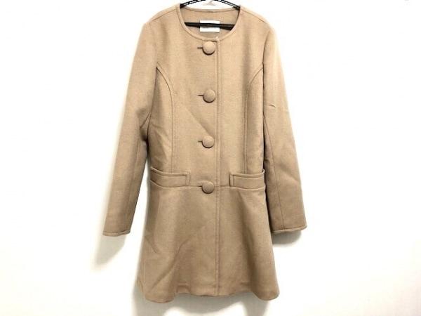 アベニールエトワール コート サイズ38 M レディース美品  ブラウン 冬物