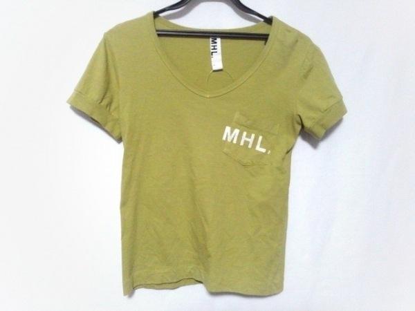 MHL.(マーガレットハウエル) 半袖Tシャツ サイズ1 S レディース ライトグリーン