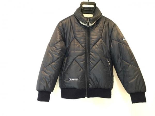 モンクレール ダウンジャケット サイズM レディース - ネイビー ski wear/冬物
