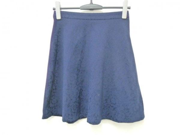 ESTNATION(エストネーション) スカート サイズ36 S レディース ネイビー bis