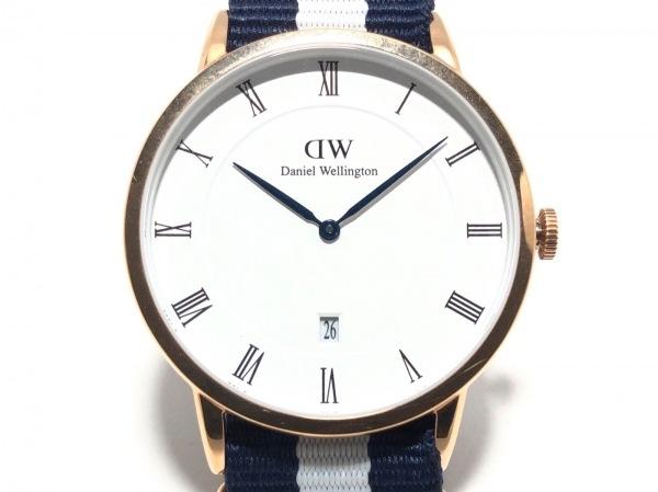 Daniel Wellington(ダニエルウェリントン) 腕時計美品  ダッパー B38R1 レディース 白