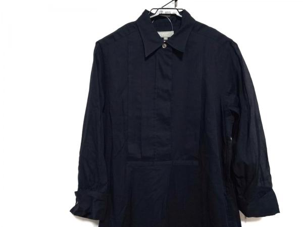 MHL.(マーガレットハウエル) ワンピース サイズ2 M レディース美品  ダークネイビー