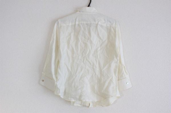 マックスマーラ 七分袖シャツブラウス サイズ42 M レディース美品  アイボリー