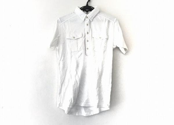 5351 PourLesHomme(5351プールオム) 半袖ポロシャツ サイズ3 L メンズ 白