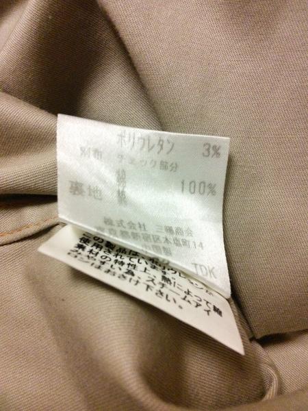 バーバリーブラックレーベル コート サイズL メンズ ベージュ ショート丈/春・秋物