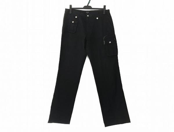 Burberry Black Label(バーバリーブラックレーベル) パンツ サイズ82 メンズ 黒