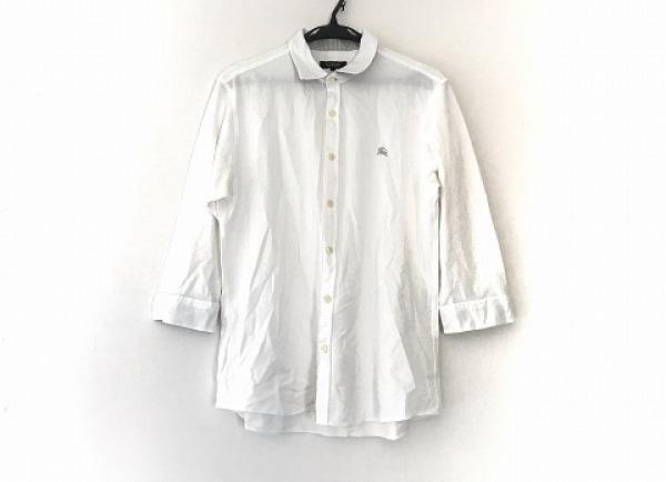 Burberry Black Label(バーバリーブラックレーベル) 長袖シャツ サイズ3 L メンズ 白