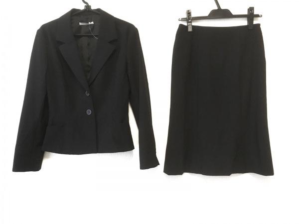 INTER PLANET(インタープラネット) スカートスーツ サイズ40 M レディース 黒