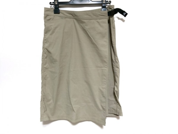 mont-bell(モンベル) 巻きスカート サイズL レディース美品  ベージュ