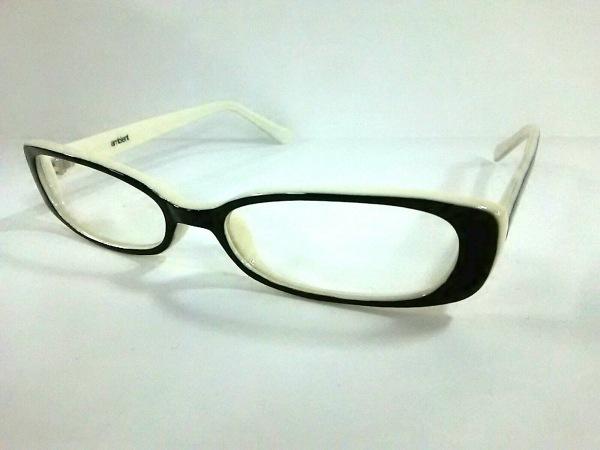 ambient(アンビエント) メガネ 黒×アイボリー プラスチック