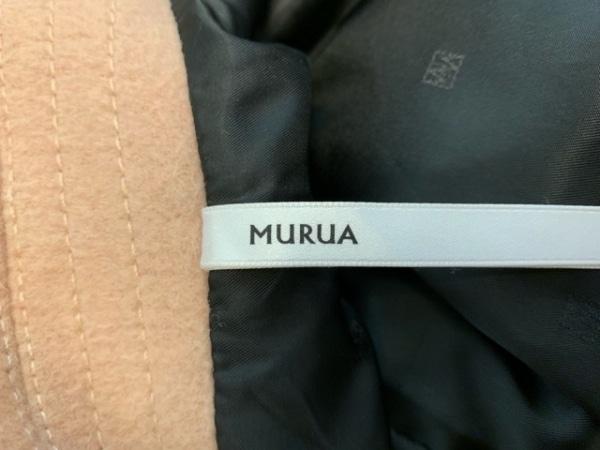 MURUA(ムルーア) コート サイズS レディース ベージュ BASIC/冬物