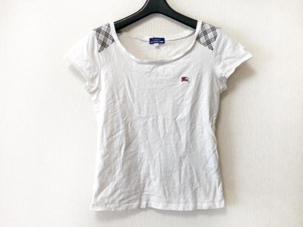 バーバリーブルーレーベル 半袖Tシャツ サイズ38 M レディース 白