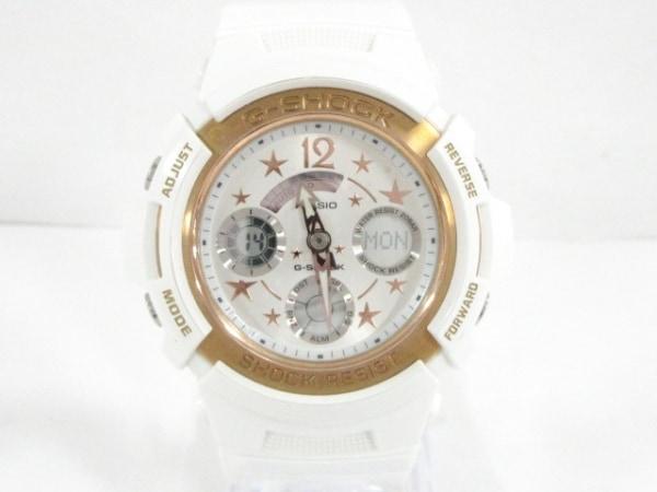 CASIO(カシオ) 腕時計美品  G-Shock/Baby-G AW-590L/BGA-104L メンズ ペアウォッチ