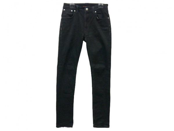 NudieJeans(ヌーディージーンズ) パンツ サイズW 29L 32 レディース 黒 ダメージ加工