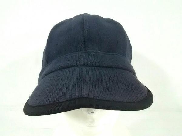 A(エイス) キャップ美品  黒 coeur コットン