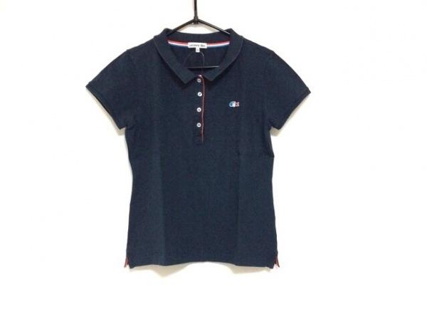Lacoste(ラコステ) 半袖ポロシャツ サイズ42 L レディース ダークグレー