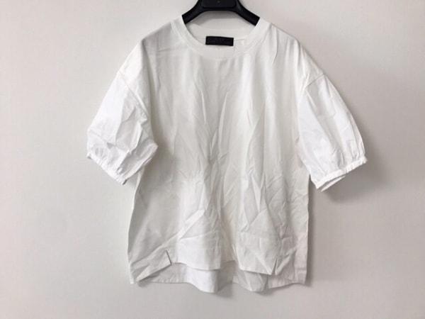自由区/jiyuku(ジユウク) 半袖カットソー サイズ38 M レディース美品  白