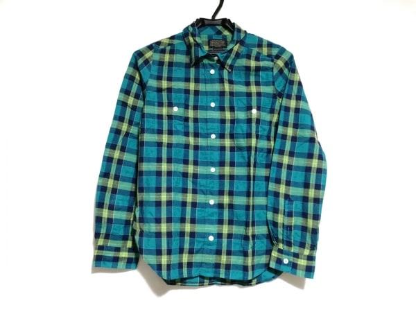 ペンドルトン 長袖シャツ サイズ1 S メンズ美品  グリーン×ネイビー×マルチ