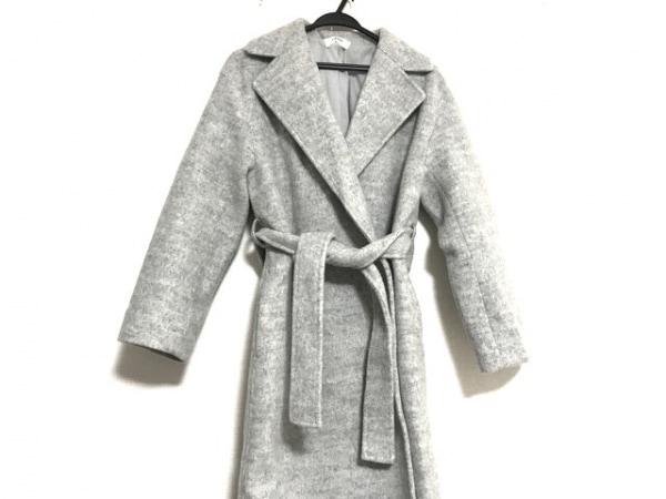 Mila Owen(ミラオーウェン) コート サイズF レディース美品  グレー 冬物