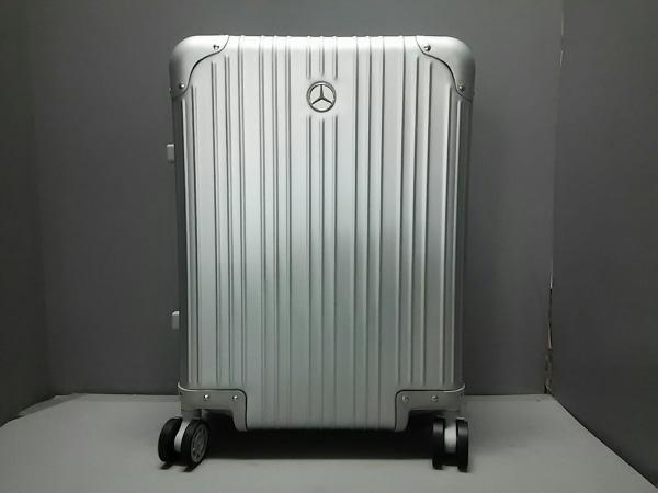 メルセデスベンツ キャリーバッグ美品  シルバー ダイヤルロック【000】 アルミニウム