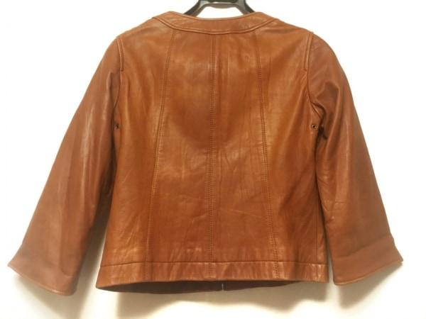 フレームワーク ライダースジャケット サイズ38 M レディース ブラウン 春・秋物