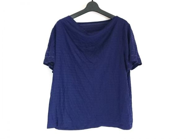 Leilian(レリアン) 半袖カットソー サイズ13+ S レディース美品  ネイビー