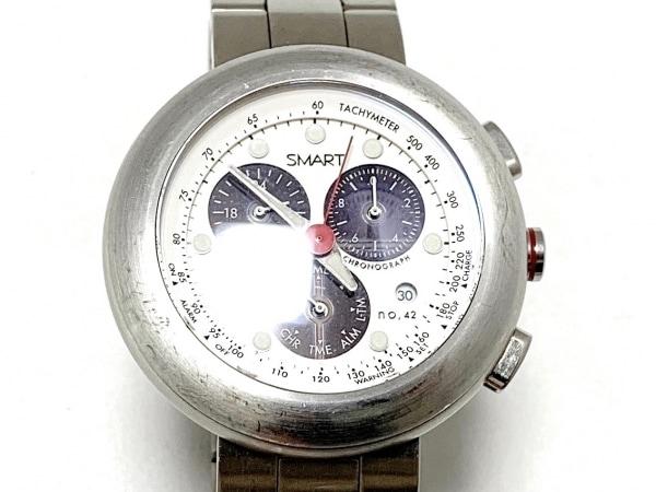 GSX WATCH(ジーエスエックス) 腕時計 GSX2115SWH メンズ クロノグラフ 白