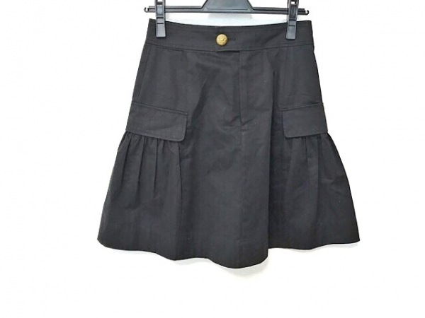 RalphLauren(ラルフローレン) スカート サイズ9 M レディース美品  黒