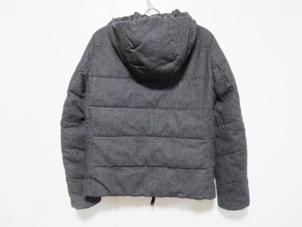 nano universe(ナノユニバース) ダウンジャケット サイズ40 M メンズ グレー 冬物