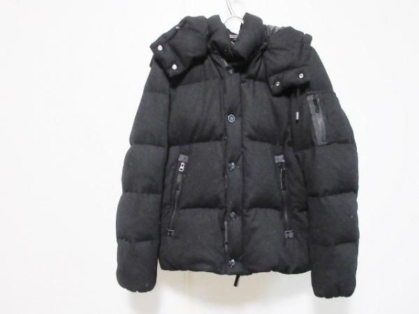 ナノユニバース ダウンジャケット サイズM メンズ 黒 冬物/NISHIKAWA DOWN