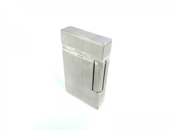 Dupont(デュポン) ライター シルバー 金属素材