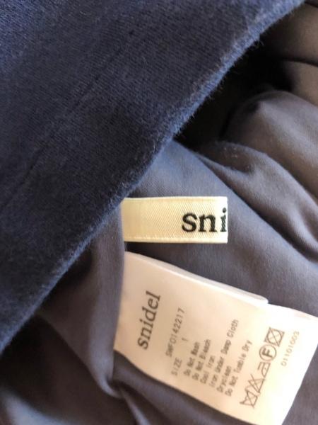 snidel(スナイデル) オールインワン サイズ1 S レディース 白×ネイビー